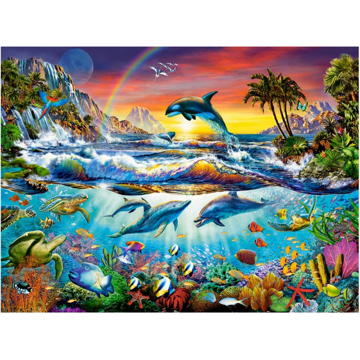 jigsaw puzzle marine animals jigsaw and more. Black Bedroom Furniture Sets. Home Design Ideas