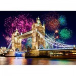London, United Kingdom: Festive Tower Bridge 500 piece jigsaw puzzle