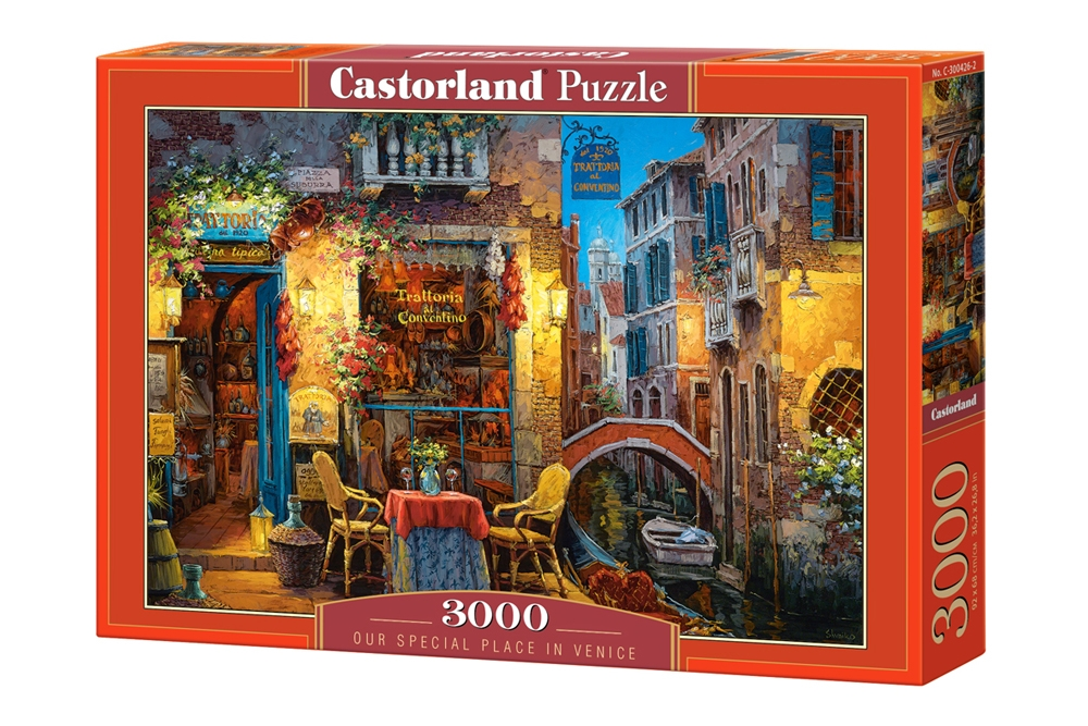 puzzle our special place in venice castorland 300426 3000 pieces jigsaw puzzles towns and. Black Bedroom Furniture Sets. Home Design Ideas