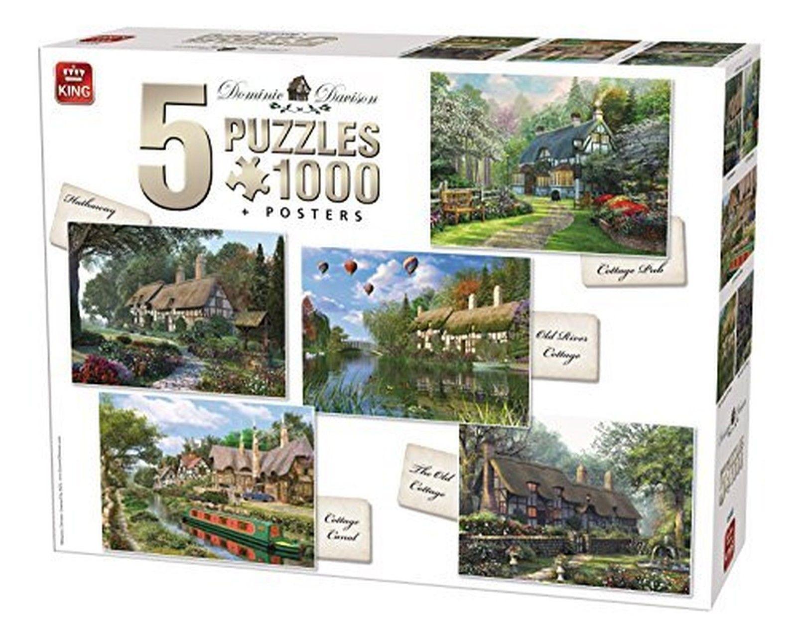 5 jigsaw puzzles dominic davison cottage king puzzle 85532 1000 pieces jigsaw puzzles. Black Bedroom Furniture Sets. Home Design Ideas
