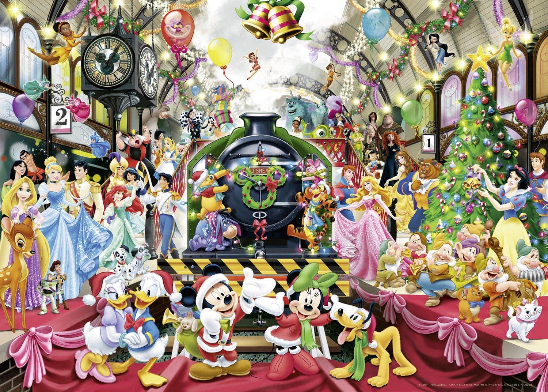 puzzle disney christmas ravensburger19553 1000 pieces