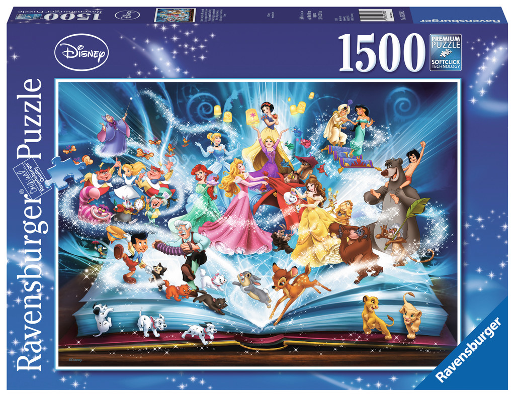 Puzzle Disney 39 S Magical Storybook Ravensburger 16318 1500 Pieces Jigsaw Puzzles Other Disney