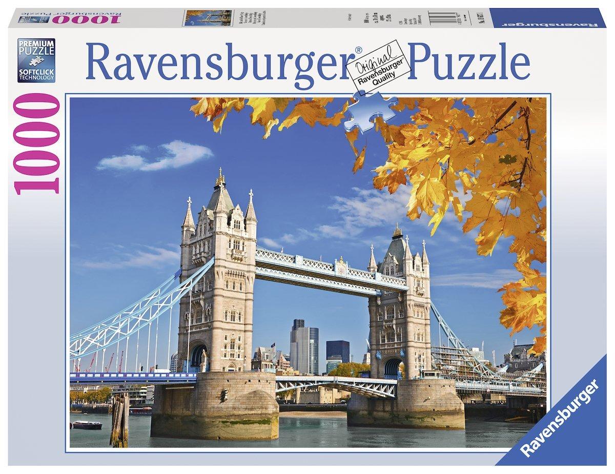 1000 TEILE PUZZLE LONDON CASTORLAND 101122 ENGLAND TOWER BRIDGE