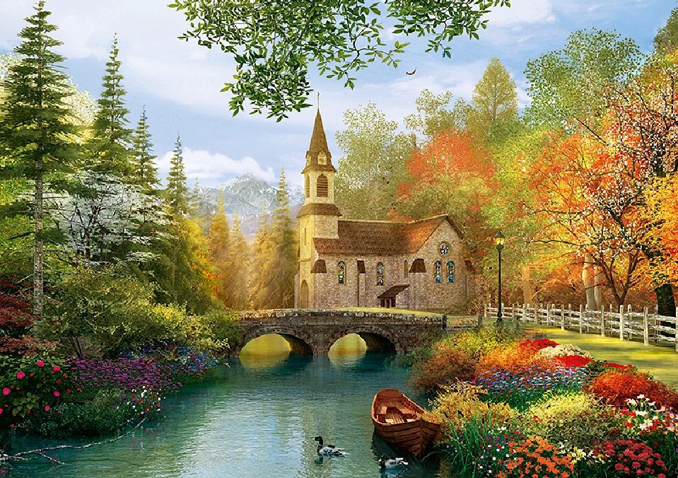 Dominic Davison: Autumn Church
