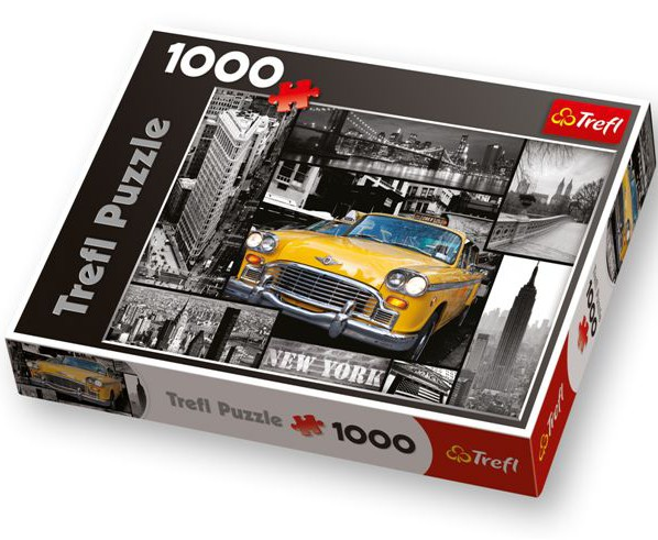 Jigsaw Puzzle - 1000 Pieces - New York : Collage