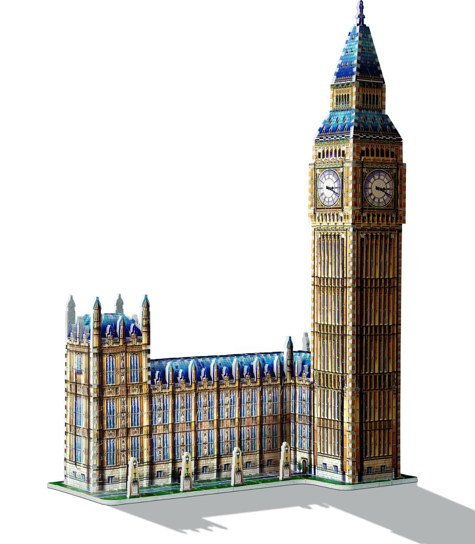 House Creator 3d Puzzle Big Ben And House Of Parliament Wrebbit 3d 34504